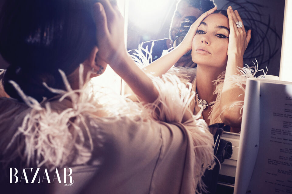 Bazaar's December Cover Star Lily Aldridge Reveals A New Direction