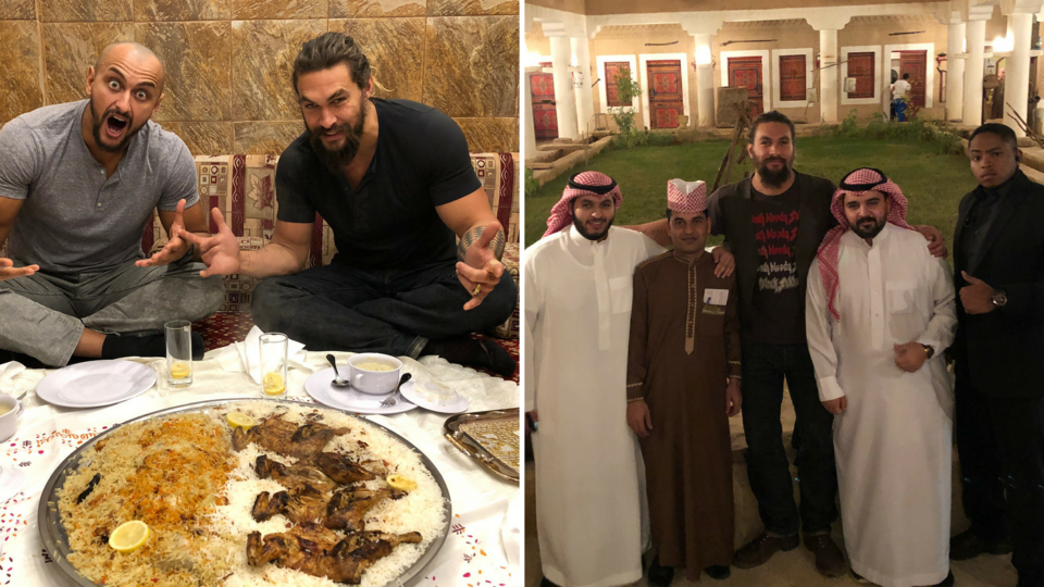 This GOT Star Just Spent An Epic Weekend In Saudi Arabia