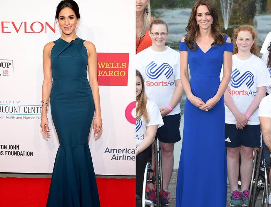 Every Time Kate Middleton And Meghan Markle Were Royal Style Twins