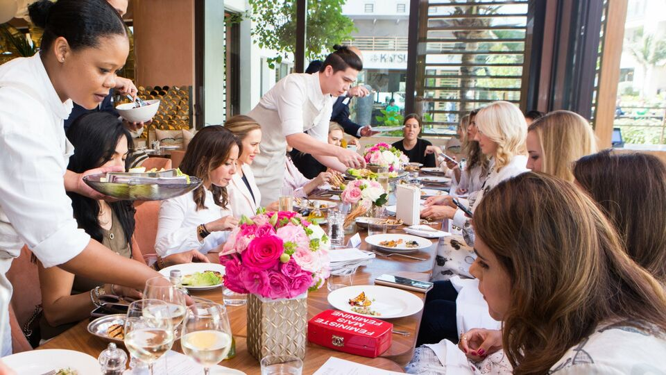 PICTURES: A Private Lunch With Megan Hess