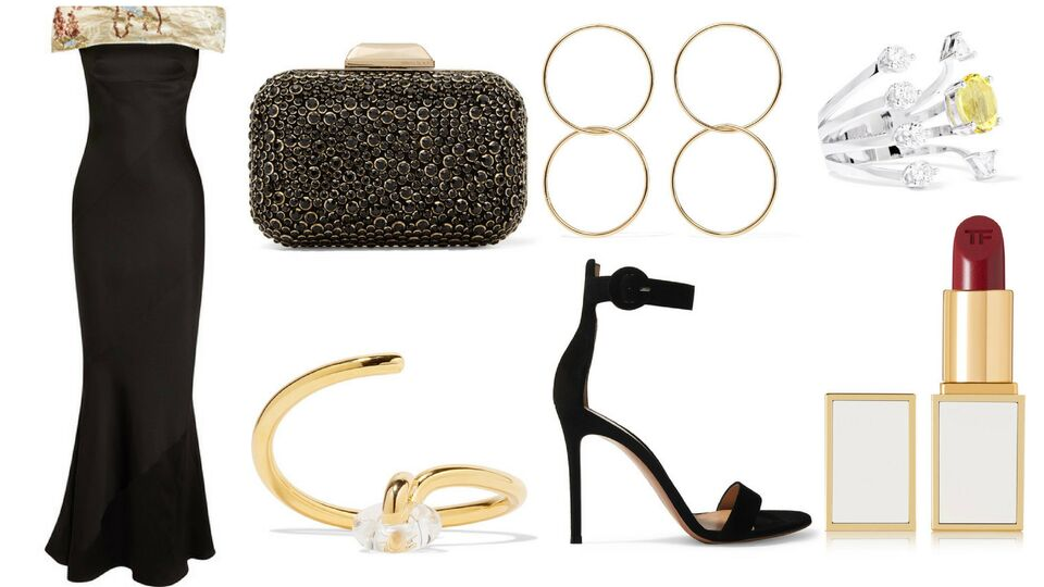 Black & Gold: Shop The Look For DIFF 2017