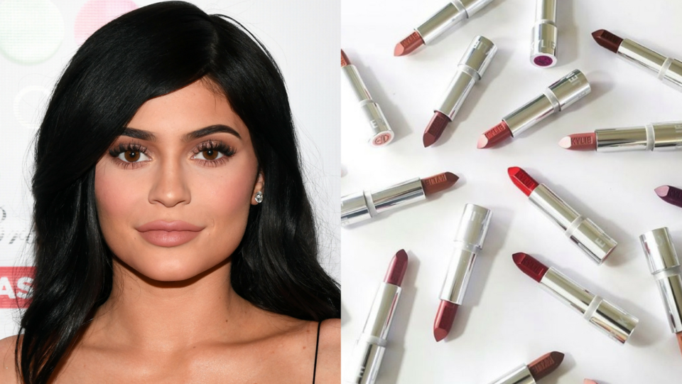 Kylie Jenner Just Dropped A New Lipstick And It Comes In 20 Different Shades
