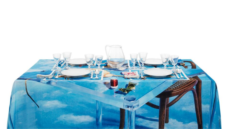 A Surrealist Table: Loewe's New Limited-Edition Table Linen