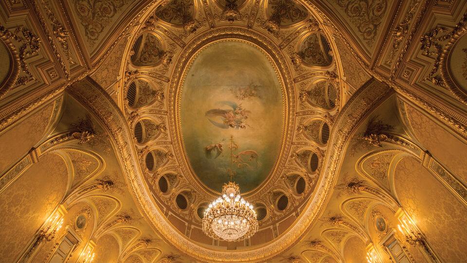 Imperial Theatre at Chateau de Fontainebleau