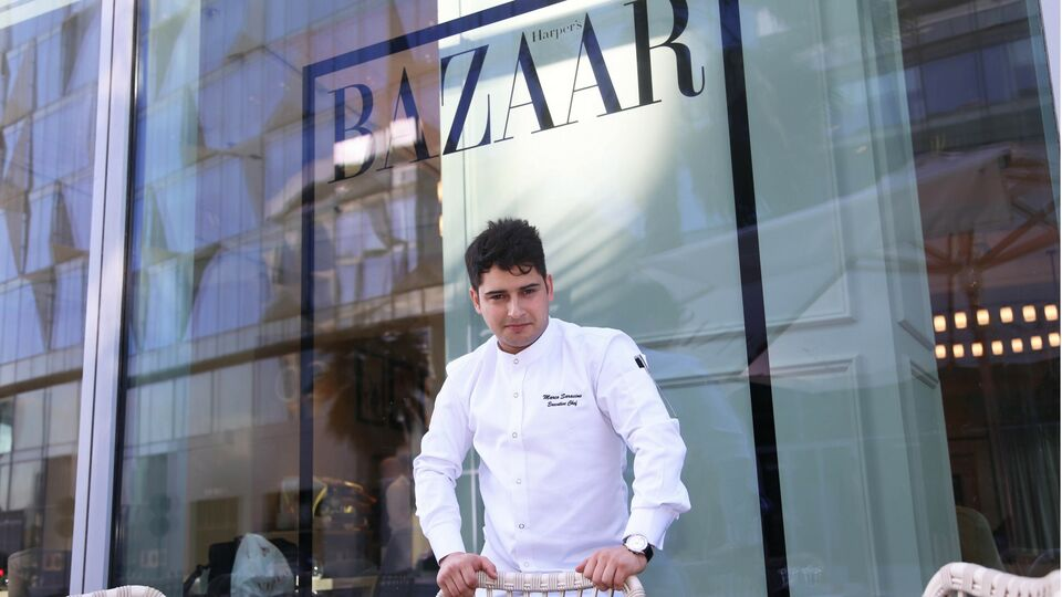 8 Questions with Chef Marco Saracino of Harper's Bazaar Cafe