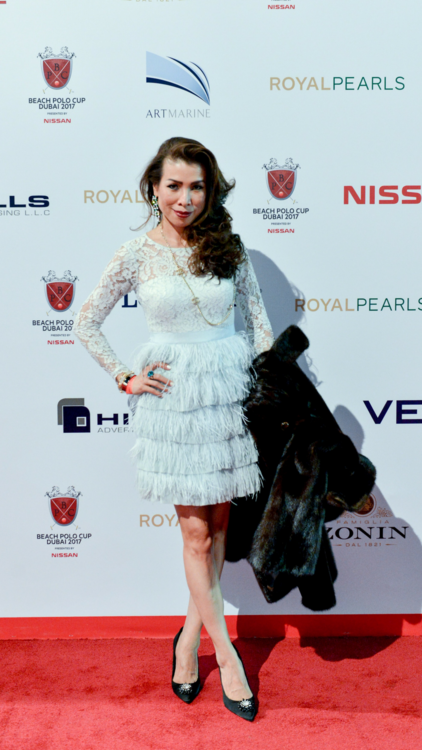 The Best Dressed At The Beach Polo Cup Dubai