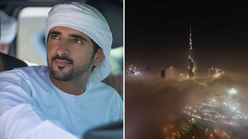 You Have To See Sheikh Hamdan's Video Of The Dubai Fog