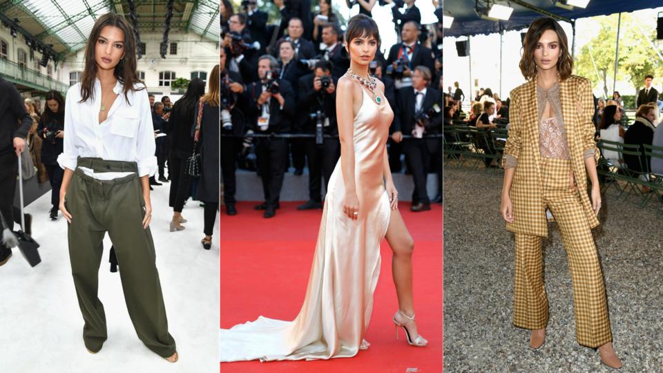 Emily Ratajkowski's Best Fashion Moments Of 2017