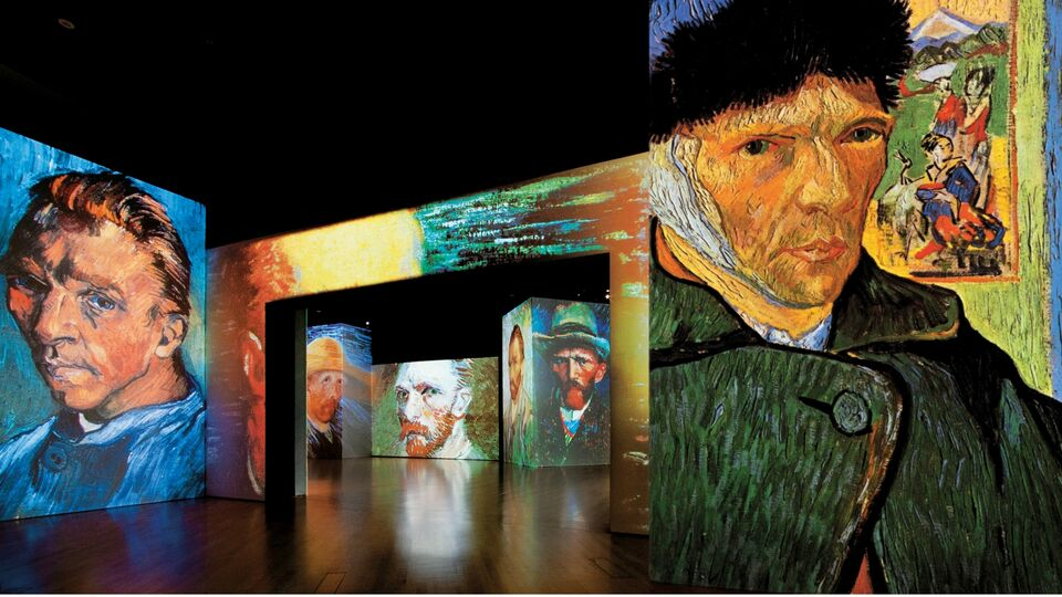 Van Gogh Travelling Exhibition Comes To The UAE