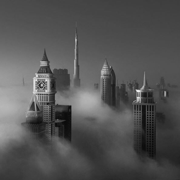 14 Incredible Instagrams Of Dubai Above The Clouds