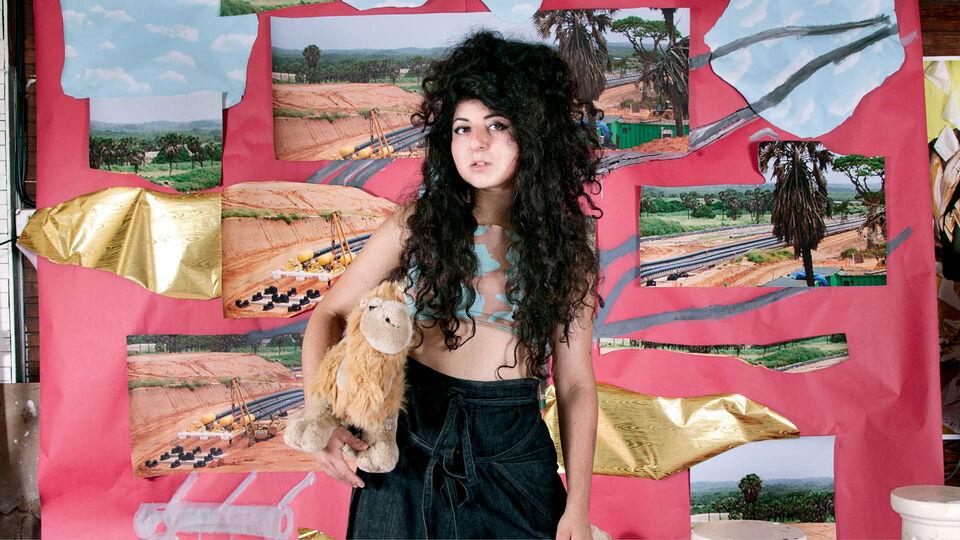 American-Iranian Artist Sheida Soleimani's Art Activism