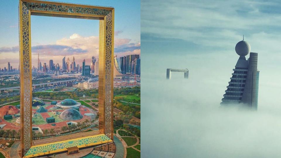 The Best Instagrams Of The Dubai Frame