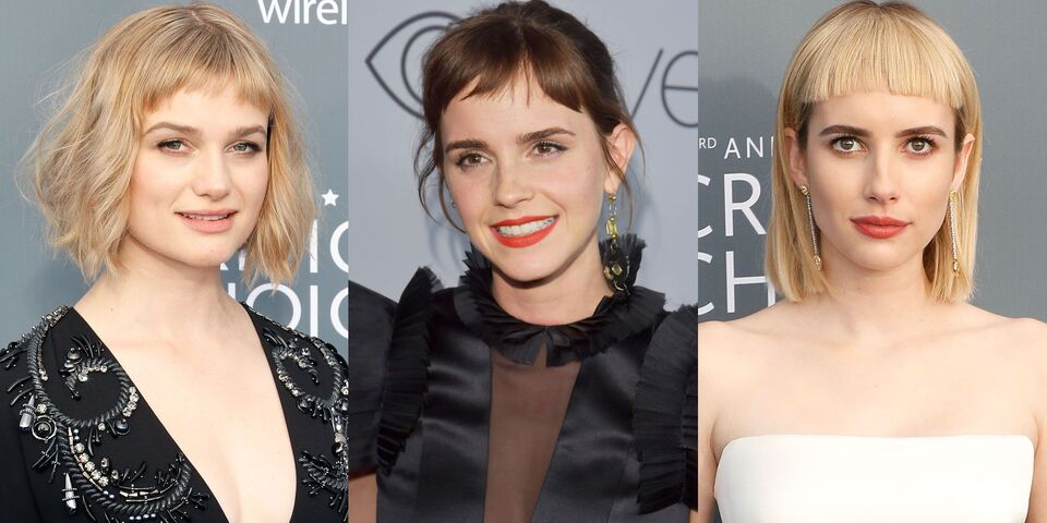 The Micro Fringe Is Having A Moment - Here's How To Style One
