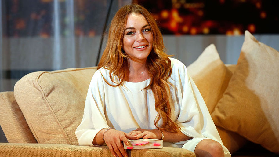 Lindsay Lohan Is Designing An Island In Dubai