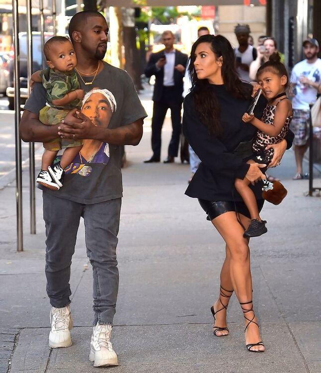 Kim Kardashian And Kanye West Welcome Third Child