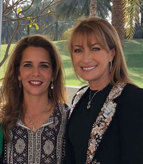 HRH Princess Haya Met Actress Jane Seymour, And What She Had To Say About Her Is Lovely