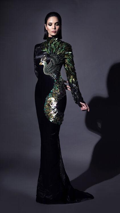 Collection: Jean-Louis Sabaji Spring/Summer 2018 Couture