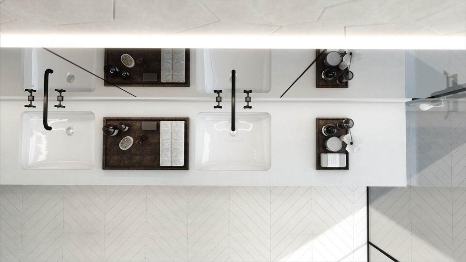 KOA Canvas Penthouse Apartments Vanity