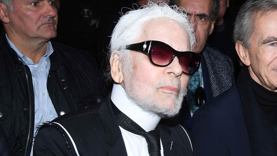 Karl Lagerfeld Has A Beard Now And Twitter Is In Shock