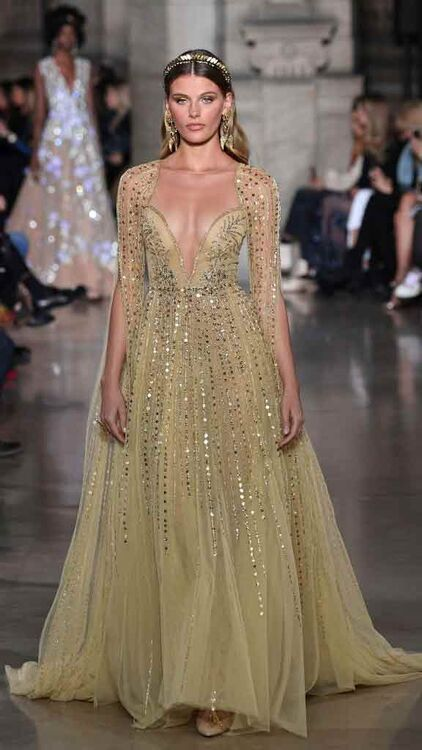 The Best Looks From Georges Hobeika Spring/Summer 2018 Couture Show