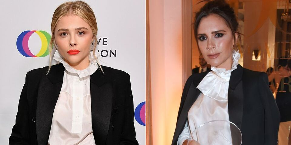 Chloe Grace Moretz Takes Style Inspiration From Victoria Beckham