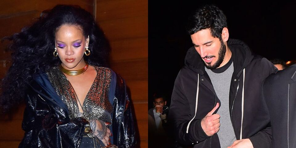 Rihanna and Hassan Jameel Spotted Together After the Grammys