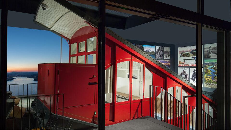 Burgenstock Funicular Switzerland