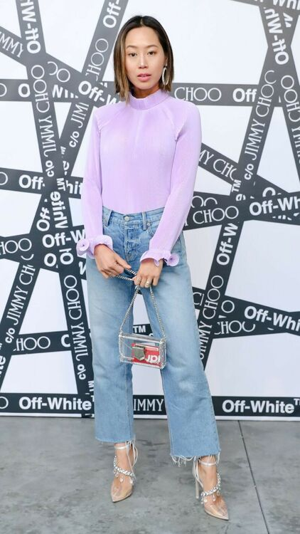 Kendall Jenner, Bella Hadid, Halima Aden And More Celebrate Off-White X Jimmy Choo