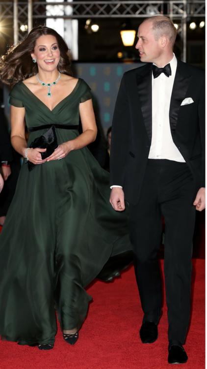 The 2018 BAFTAs Red Carpet