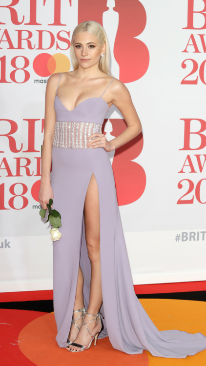 The 10 Must-See Dresses From The 2018 Brit Awards