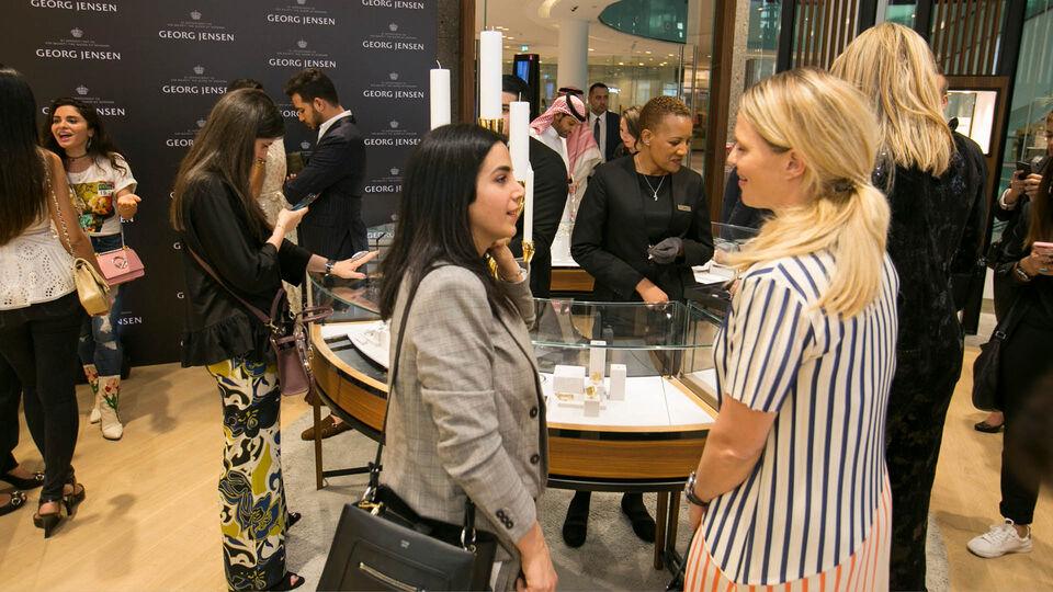Georg Jensen Opens New Boutique In The Dubai Mall