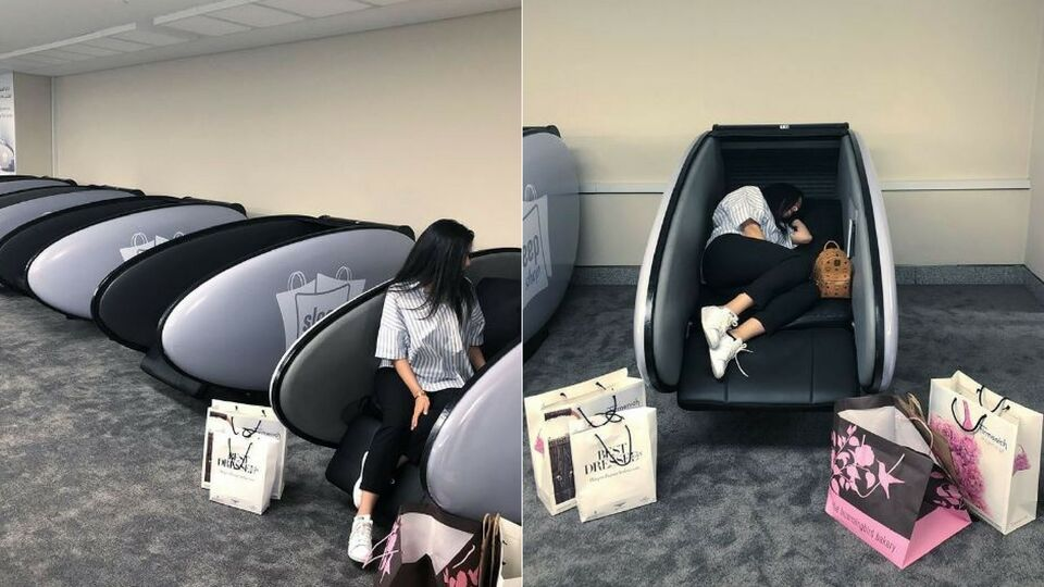 Dubai Mall Launches Sleep Pods For Tired Shoppers