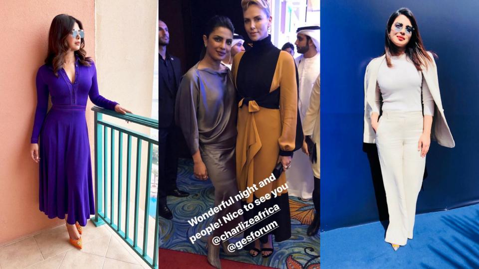 Priyanka Chopra Is Back In Dubai