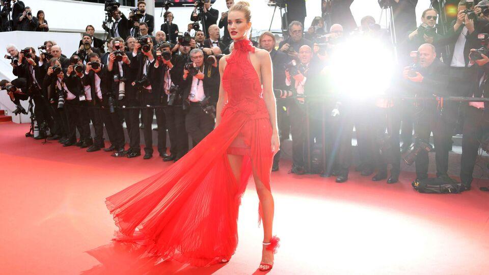 10 of Rosie Huntington-Whiteley's Best Red Carpet Looks