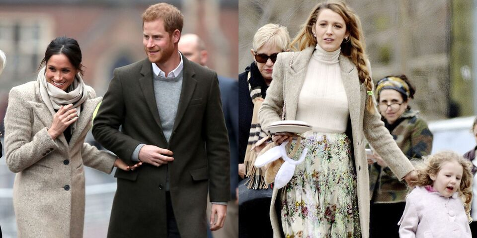 Blake Lively Takes A Page From Meghan Markle's Royal Style Book