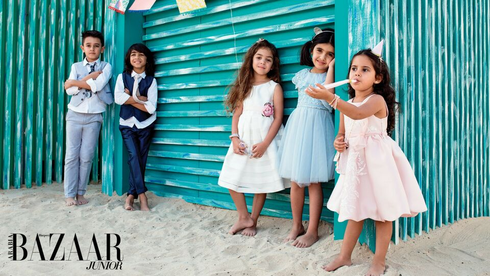 These Cute Beach Party Looks Will Get Your Little Ones Ready For Summer