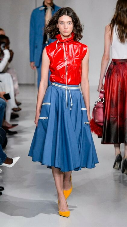 Trending: Red And Blue Ensembles