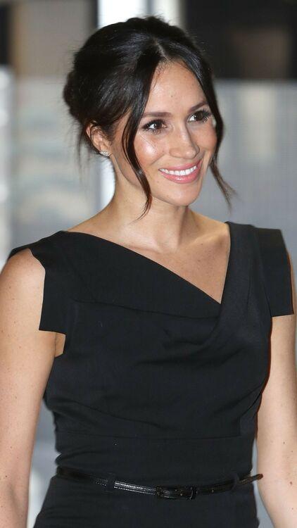 Meghan Markle Just Wore The Same Dress That Kim Kardashian