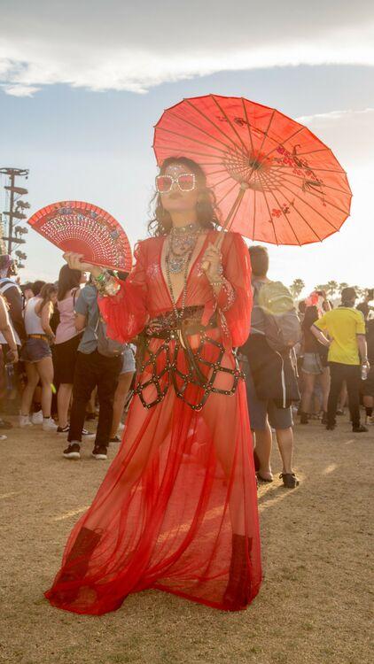 The Best Coachella 2018 Street Style
