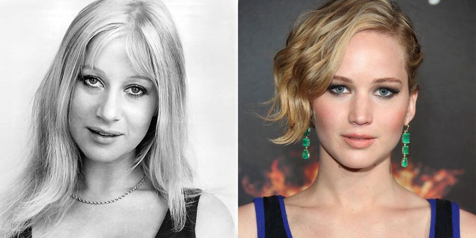 21 Celebrities And Their Vintage Doppelgängers