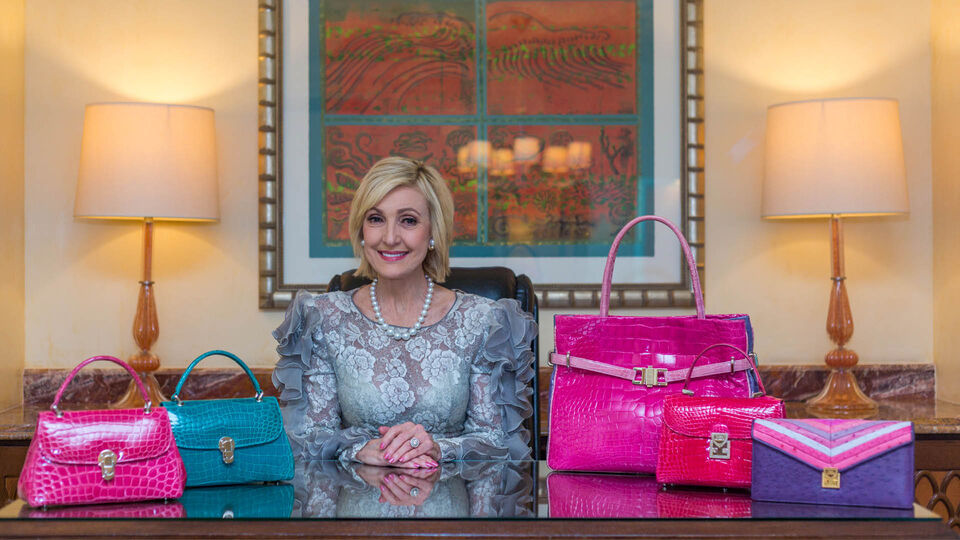 Interview: Lana Marks On Incorporating Jewels Into Her Handbag Designs
