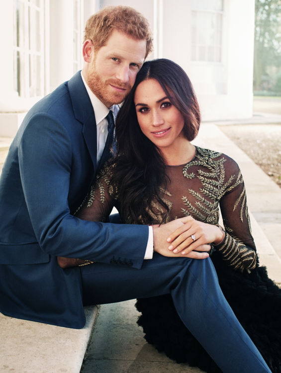 Prince Harry And Meghan Markle Become The Duke And Duchess Of Sussex