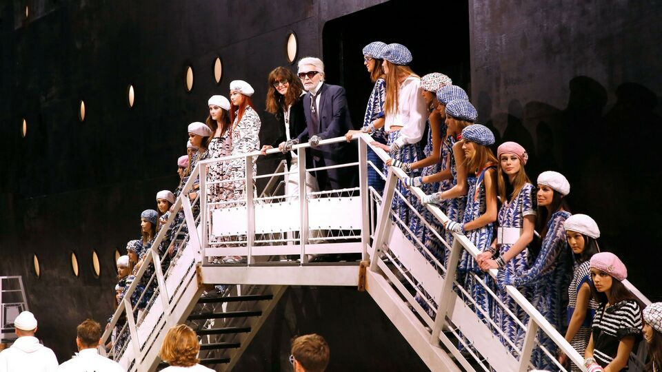 All Aboard For Chanel's Cruise 2019 Show