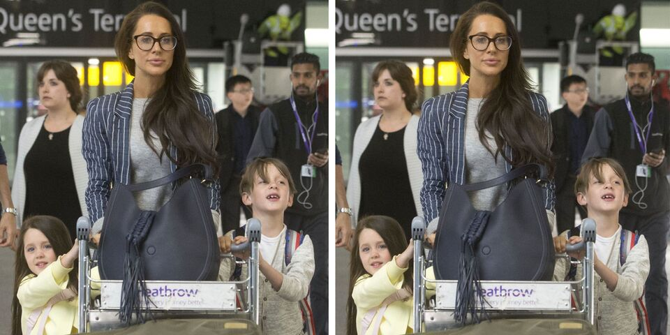 Meghan Markle's Best Friend Jessica Mulroney Arrives In London For The Royal Wedding