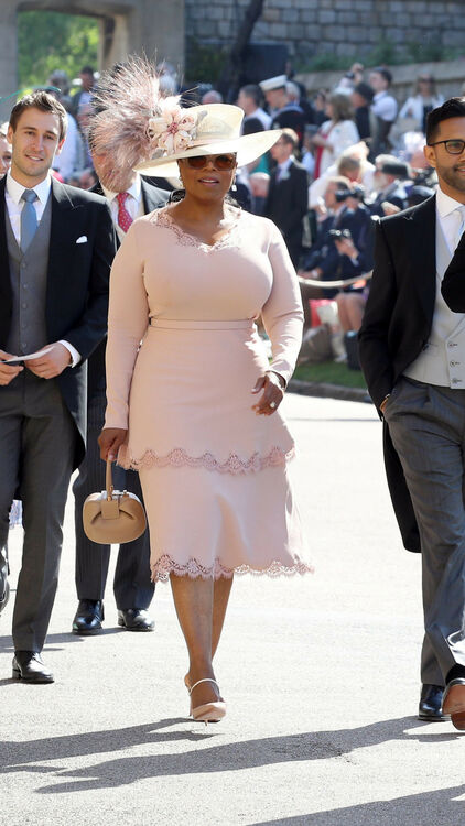 All The Celebrity Guests At Prince Harry And Meghan Markle's Wedding