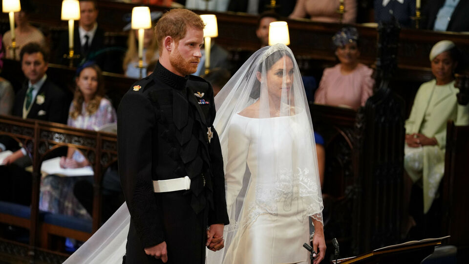 One Year On: Meghan Markle And Prince Harry's Royal Wedding In Pictures