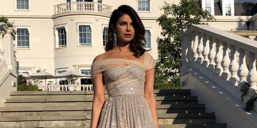 Priyanka Chopra Had The Most Stunning Outfit Change For The Royal Wedding Reception