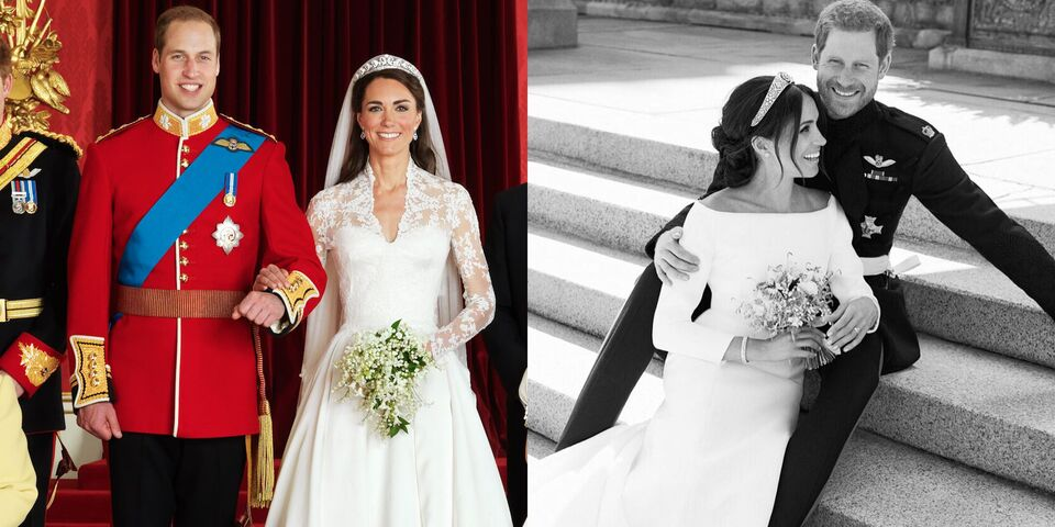 Meghan And Harry's First Portraits Were Just Released  –Here's How They Compare To Kate And William's