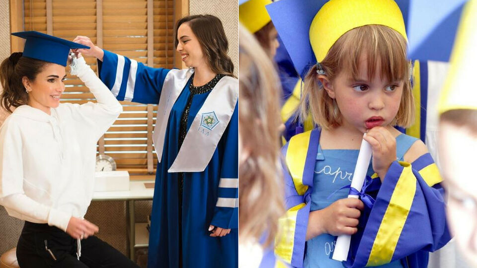 Queen Rania Shares Heartwarming Pictures As Her Daughter Graduates