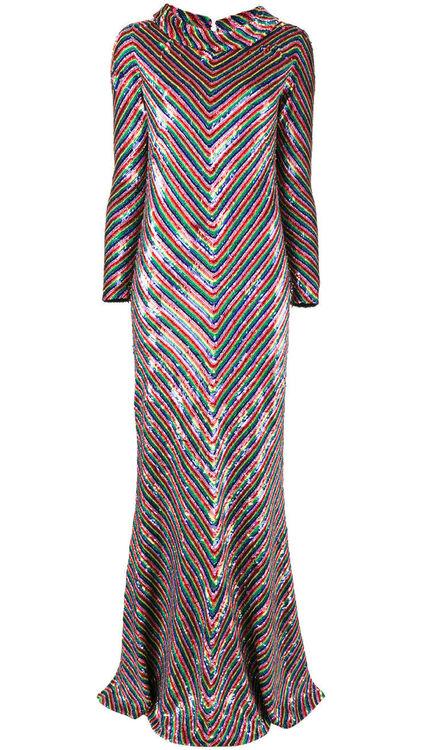 How To Wear Sequins Like Halima Aden